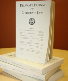 Delaware Corporate Law Journal